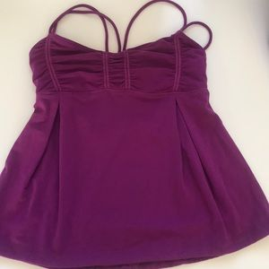 Awesome plum color Lululemon tank top size 6 used